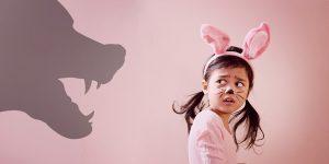 Una strategia semplice semplice per sconfiggere la paura nei bambini